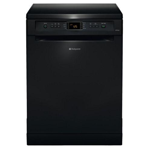 Hotpoint FDYF11011K Fullsize Dishwasher, A Energy Rating, Black