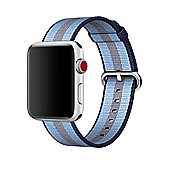 Apple MQVU2ZM/A Band Blue Nylon 42mm Midnight Stripe Woven