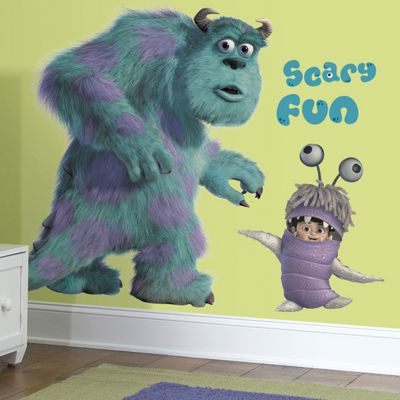 Disney Monsters Inc. Giant Sully & Boo Wall Stickers