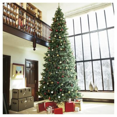 15ft pre lit christmas tree colorado spruce 1000 white leds