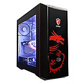 Cube Dragon Master Overclocked Watercooled Gaming PC Core i7k Quad Core MSI Geforce GTX 1070 Gaming X 8GB GPU Intel Core i7 3000GB Windows 10 GeForce