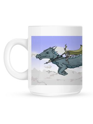 Father Of Dragons 10oz Ceramic Mug