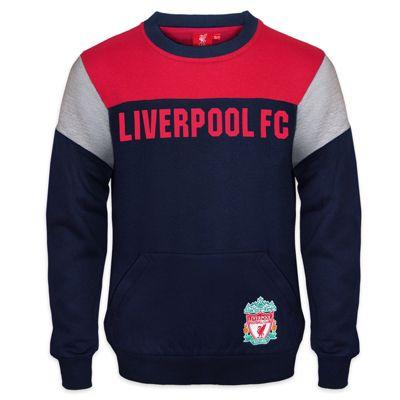 Liverpool FC Boys Sweatshirt Navy 8-9 Years