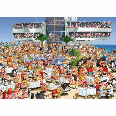 Boat Cruise - Ruyer - 1000pc Puzzle