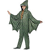 Pterodactyl Dinosaur Children's Costume - Green