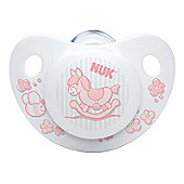 NUK Rose & Blue Soother (6-18m) (Pink)