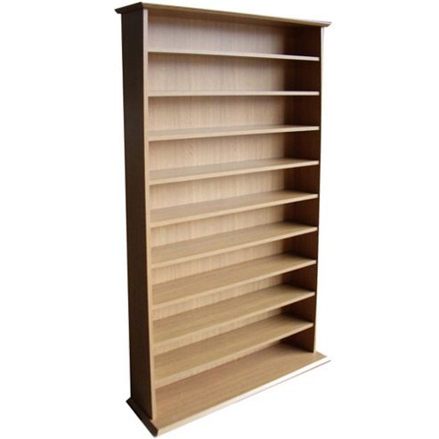 Techstyle CD / DVD / Blu-ray Media Storage Shelves