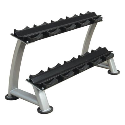 Bodymax Zenith Dumbbell Rack - 2 Tier 5 Pairs