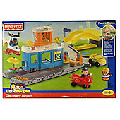 Fisher Price Little People Discovery Airport - Blue