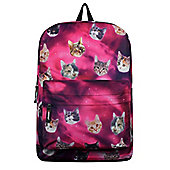 Cosmic Cats Pink Backpack 32x42x11cm