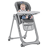 Chicco Polly Magic Relax Highchair,  Anthractie