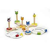Viga Wooden Ring Toss