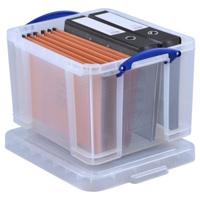 Really Useful 3 x 35L Storage Boxes