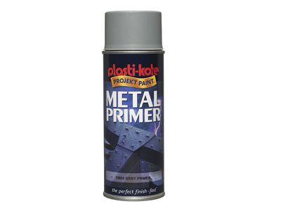 Plasti-kote Metal Primer Spray Grey 400ml