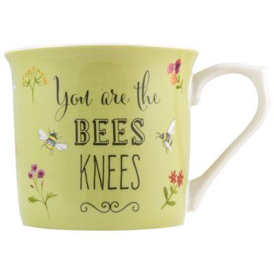 English Tableware Co. Bees Knees Mug, Green