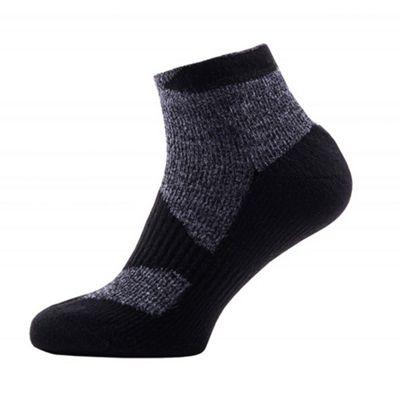 SealSkinz Walk Thin Socklet Grey Size: XL