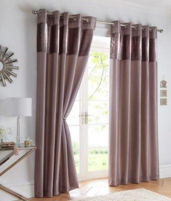 Boulevard Mink - Eyelet Curtains