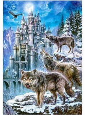 Wolves at the Castle - 1500pc Puzzle