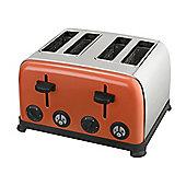 KitchenOriginals by Kalorik Coral Crush Four Slice Toaster