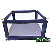 Tikk Tokk Pokano Fabric Playpen Square - Blue