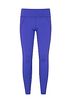 Zakti GET THE MESSAGE MINI ME KIDS LEGGING - Purple