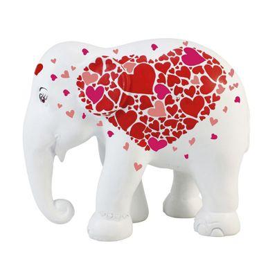 Elephant Parade Hearts in Heart 10cm Collectible Artpiece