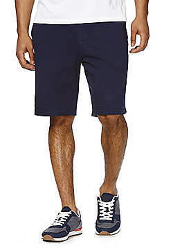 F&F Drawstring Jersey Shorts - Navy