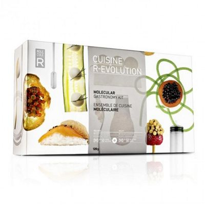 Cuisine Molecule-R Molecular Gastronomy Kit Cuisine R-evolution Cooking Utensils & DVD