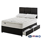 Silentnight Denver Divan Bed, 1400 Pocket Latex