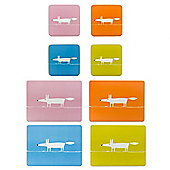 Scion Mr Fox Placemats and Coasters, Pink