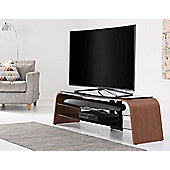 Alphason Spectrum ADSP1600-WAL Walnut TV Stand for up to 75 inch TVs