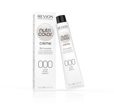 Revlon Professional Nutri Color 000 Clear Crème Tube 100ml