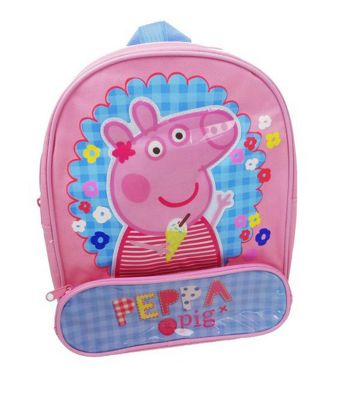 Character Peppa Pig 'Holiday' Topper Backpack