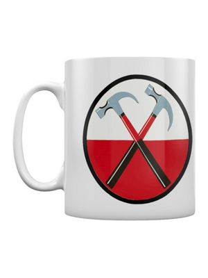 Pink Floyd The Wall Hammers 10oz Ceramic Mug, White