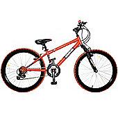 "Concept Demon 24"" Wheel 18 Speed Kids Mountain Bike"