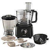 Philips Food processor, HR7629/91, 650W - Black