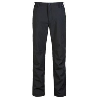 Regatta Mens Fenton Trousers Black 44 Short Leg