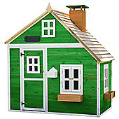 Whacky Mansion Wooden Playhouse 6ft x 4ft Painted Wendy House