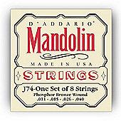 D Addario J74 Phosphor Mandolin Strings -Medium