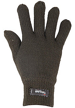 Mountain Warehouse Thinsulate Mens Knitted Gloves - Green