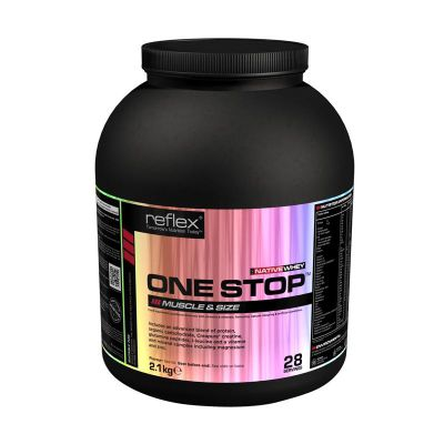 Reflex One Stop 2.1kg - Strawberry
