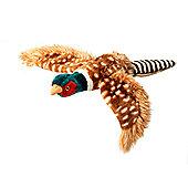 Plush Pheasant Dog Toy - Small