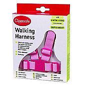 Clippasafe Adjustable Walking Harness & Reins (Pink)