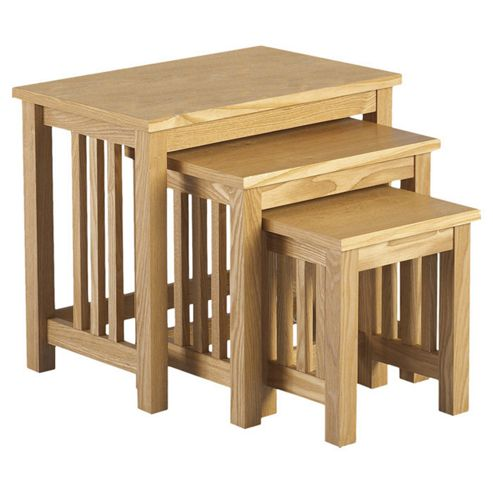 Home Essence Whitby 3 Piece Nests of Tables Set