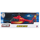 Teamsterz Helicopter With Light and Sound Red