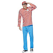 Where's Wally? Dress-Up Costume - Red