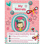 Craft Box My Secrets Diary and Activity book