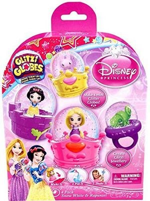 Glitzi Globes Disney Princess Theme Pack - Snow White and Rapunzel