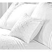 Rapport Everdean White Boudoir Cushion - 30x50cm