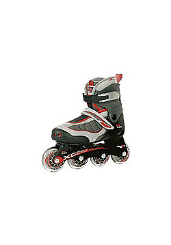 Xcess MX-S1000 Red/Grey Childrens Inline Skate - Grey
